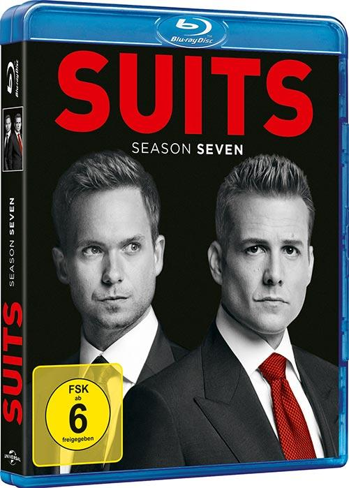 DVD Cover: Suits - Season 7