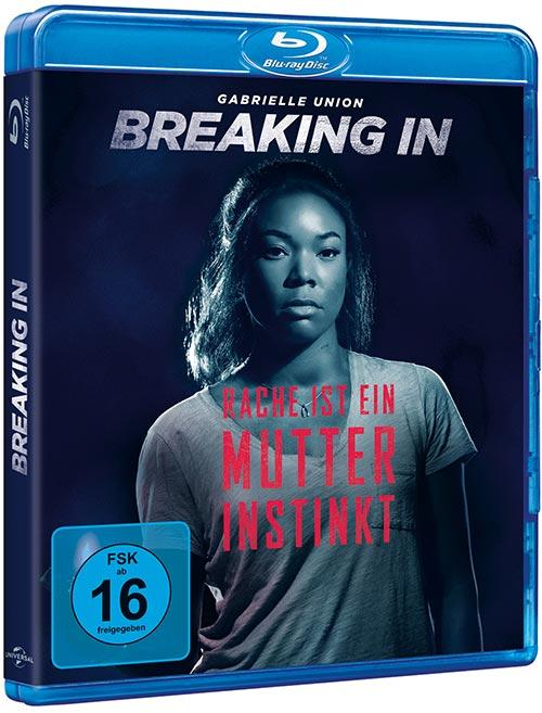DVD Cover: Breaking In - Rache ist ein Mutterinstinkt
