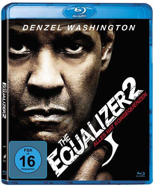 DVD Cover: The Equalizer 2