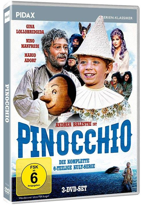 DVD Cover: Pinocchio