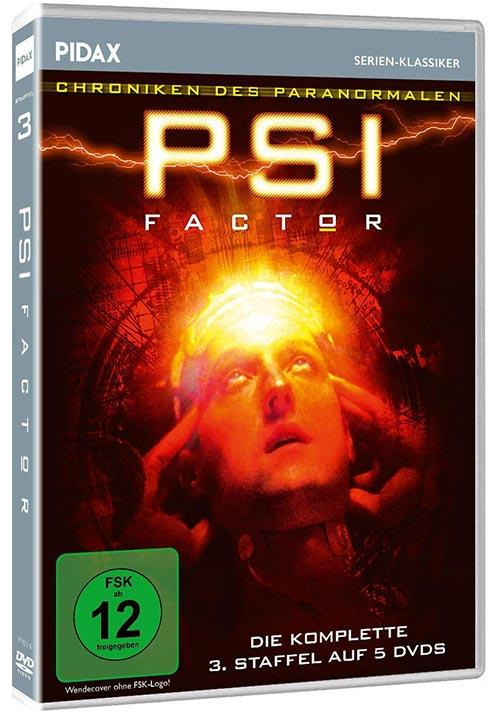 DVD Cover: PSI Factor - Chroniken des Paranormalen - Staffel 3