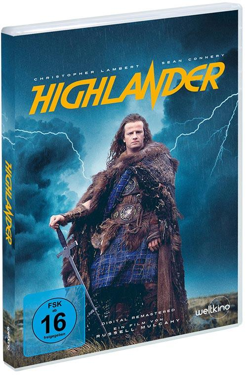 DVD Cover: Highlander