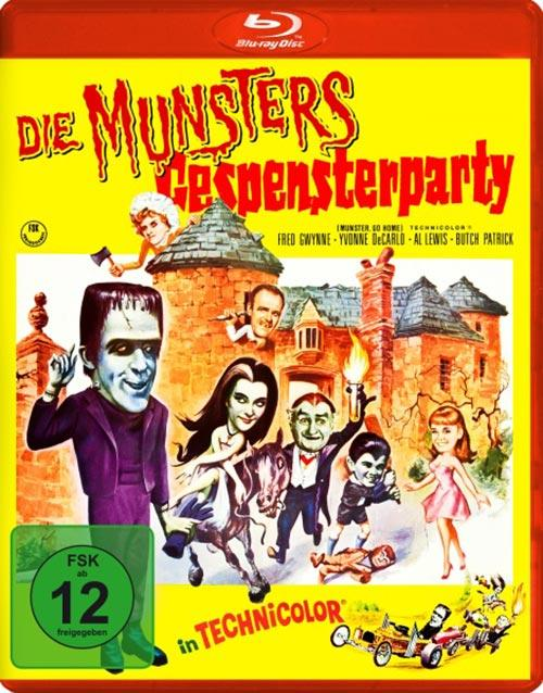 DVD Cover: Die Munsters - Gespensterparty