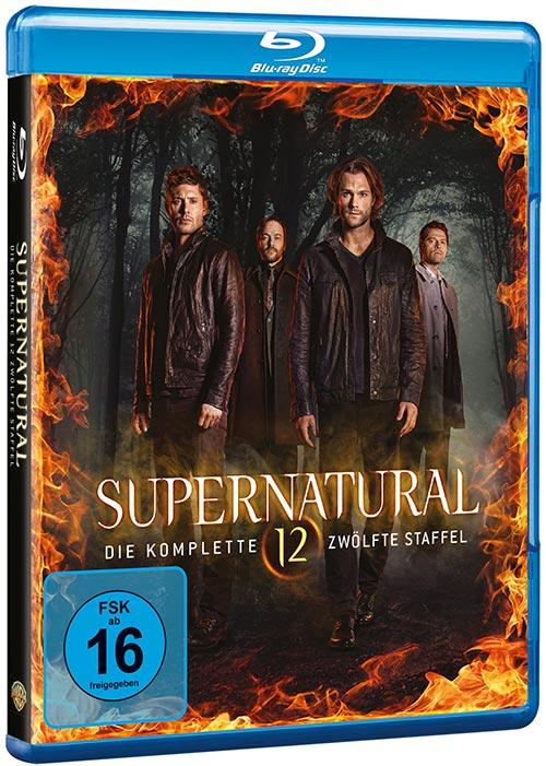 DVD Cover: Supernatural - Staffel 12