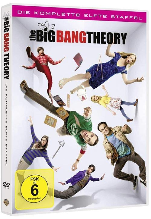 DVD Cover: The Big Bang Theory - Staffel 11