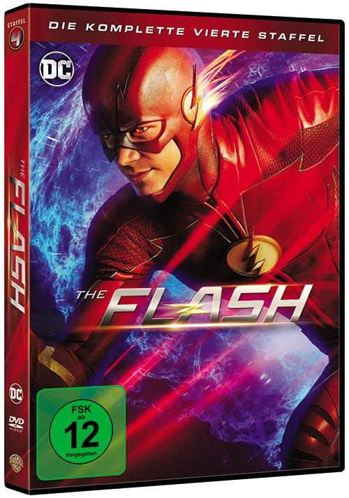 DVD Cover: The Flash - Staffel 4