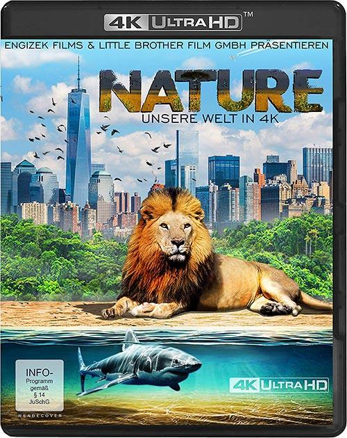 DVD Cover: Our Nature - 4K