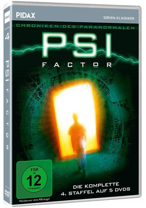 DVD Cover: PSI Factor - Chroniken des Paranormalen - Staffel 4