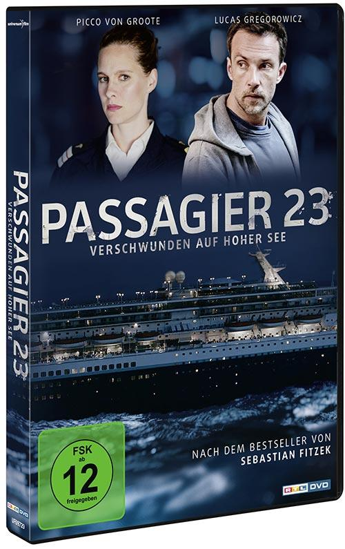DVD Cover: Passagier 23