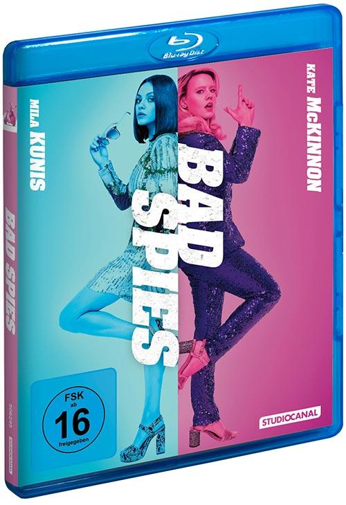 DVD Cover: Bad Spies