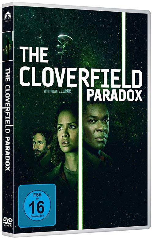 DVD Cover: The Cloverfield Paradox