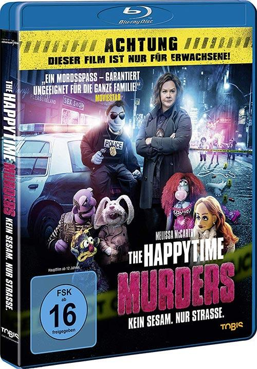 DVD Cover: The Happytime Murders