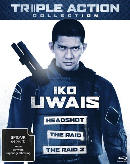 DVD Cover: Triple Action Collection: Iko Uwais