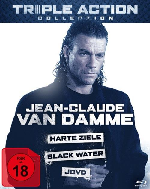 DVD Cover: Triple Action Collection: Jean-Claude Van Damme