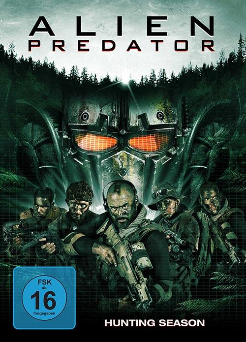 DVD Cover: Alien Predator - Hunting Season