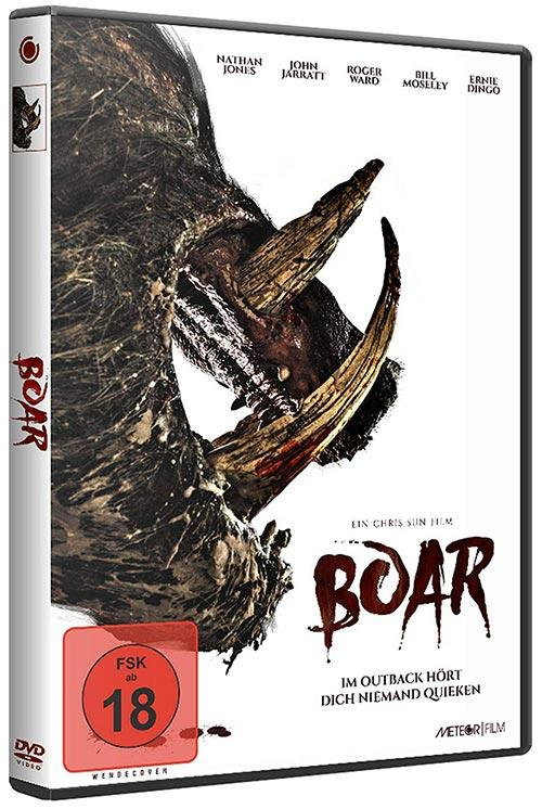 DVD Cover: Boar - uncut