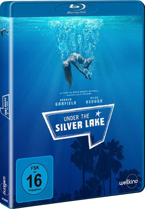 DVD Cover: Under the Silver Lake