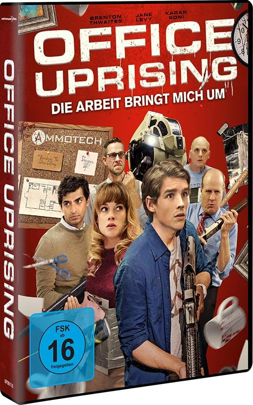 DVD Cover: Office Uprising