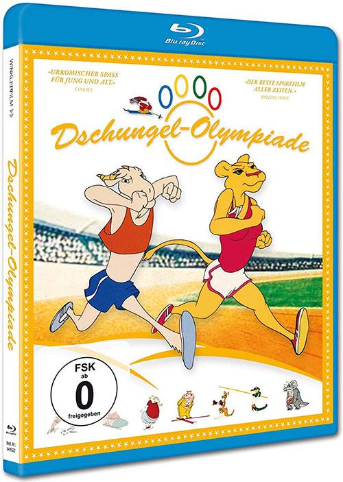 DVD Cover: Dschungel-Olympiade