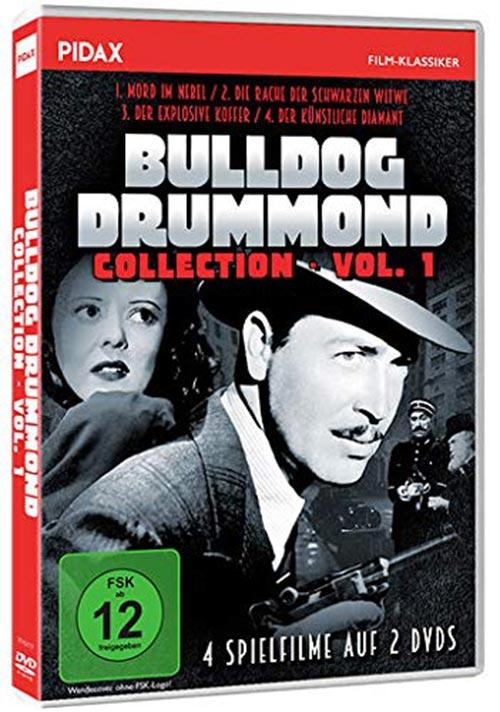 DVD Cover: Bulldog Drummond - Collection - Vol. 1