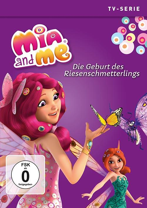 DVD Cover: Mia and Me - TV-Serie - Staffel 3 - DVD 6