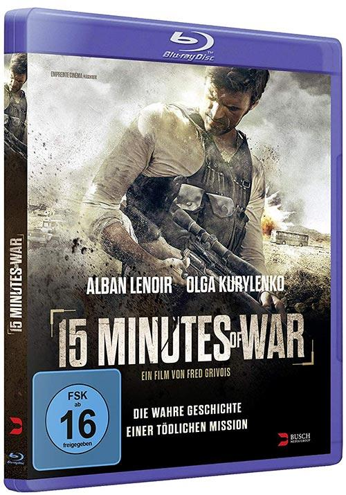 DVD Cover: 15 Minutes of War