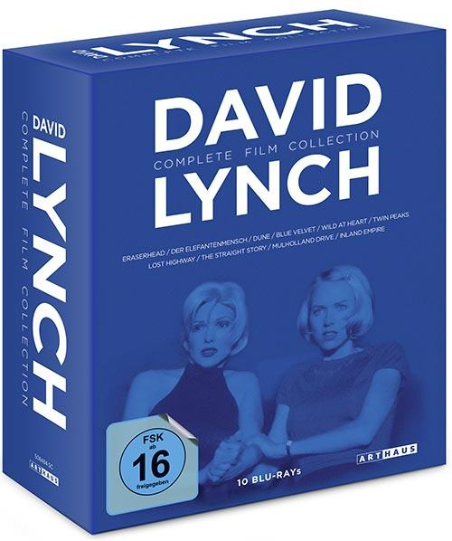 DVD Cover: David Lynch - Complete Film Collection