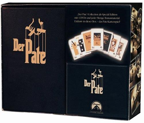 DVD Cover: Der Pate - DVD Collection - 1. Neuauflage
