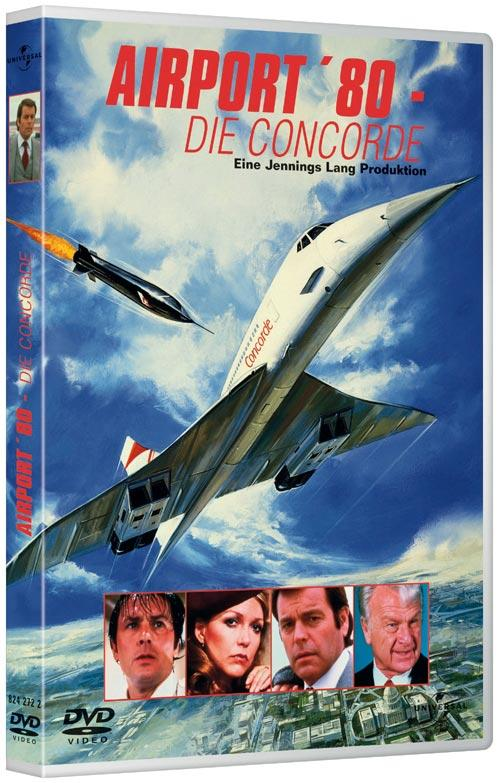 DVD Cover: Airport 80 - Die Concorde