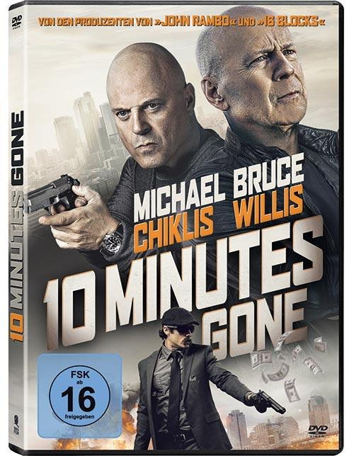 DVD Cover: 10 Minutes Gone