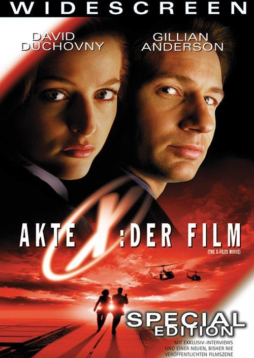 DVD Cover: Akte X - Der Film - Special Edition