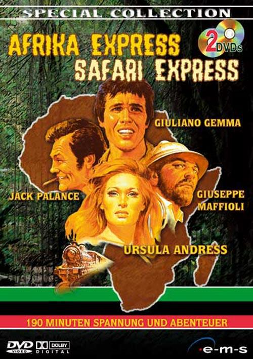 DVD Cover: Afrika Express & Safari Express - Special Collection