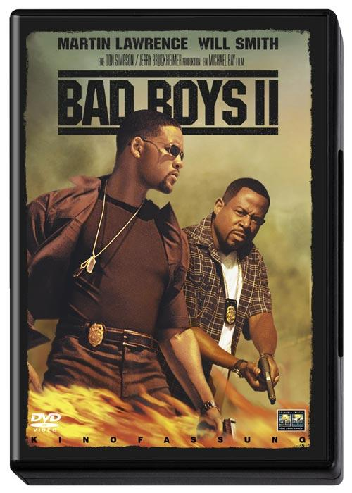 DVD Cover: Bad Boys II - Kinofassung