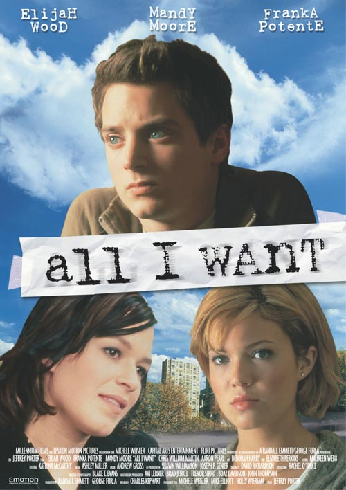 DVD Cover: All I Want