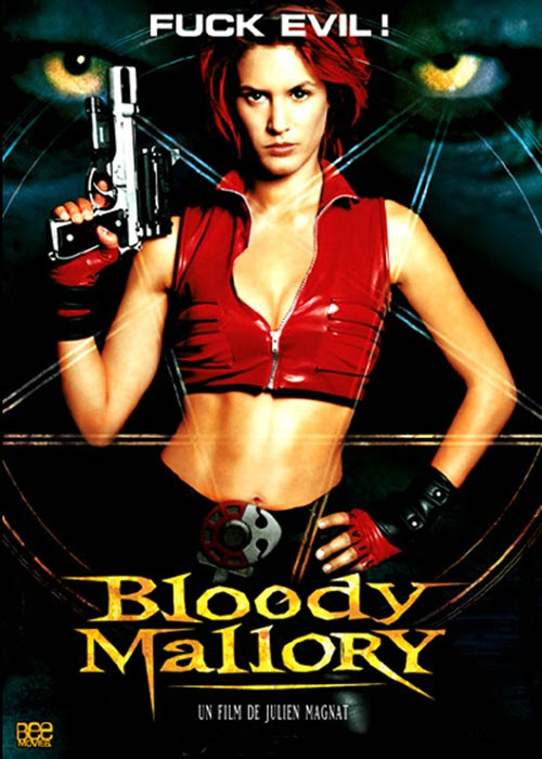 DVD Cover: Bloody Mallory