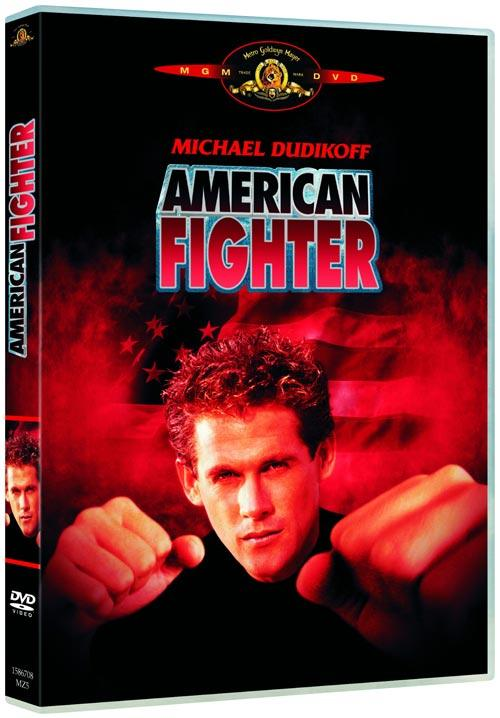 DVD Cover: American Fighter