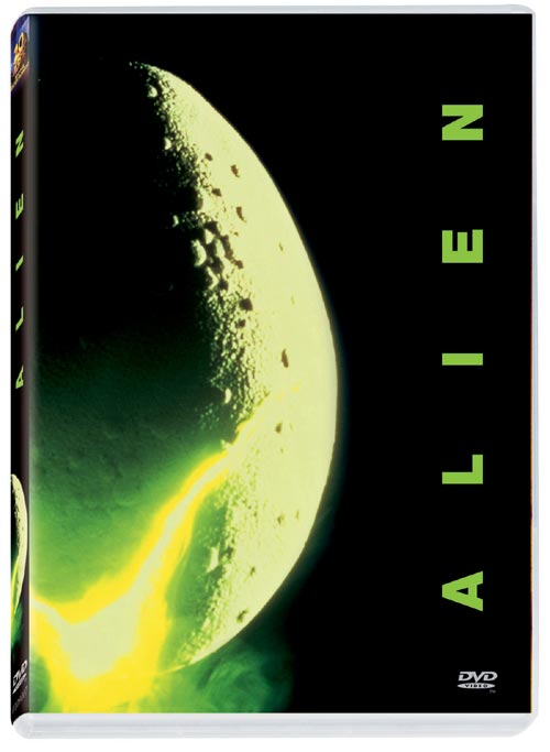 DVD Cover: Alien