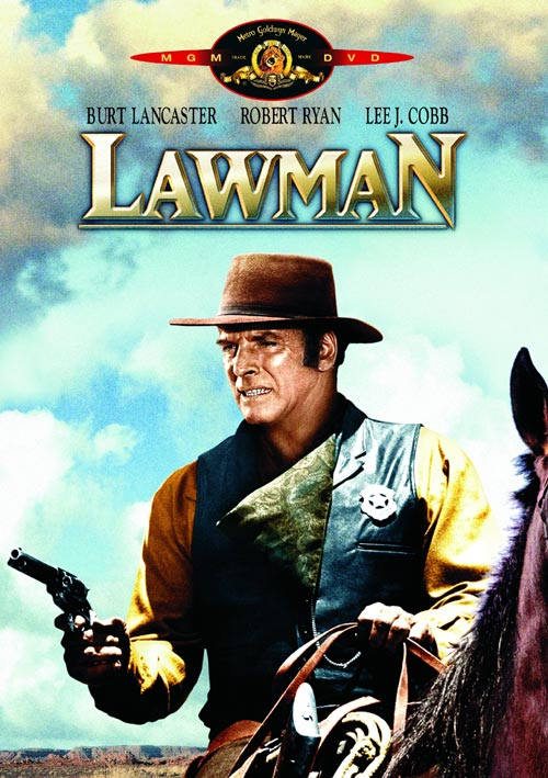 DVD Cover: Lawman