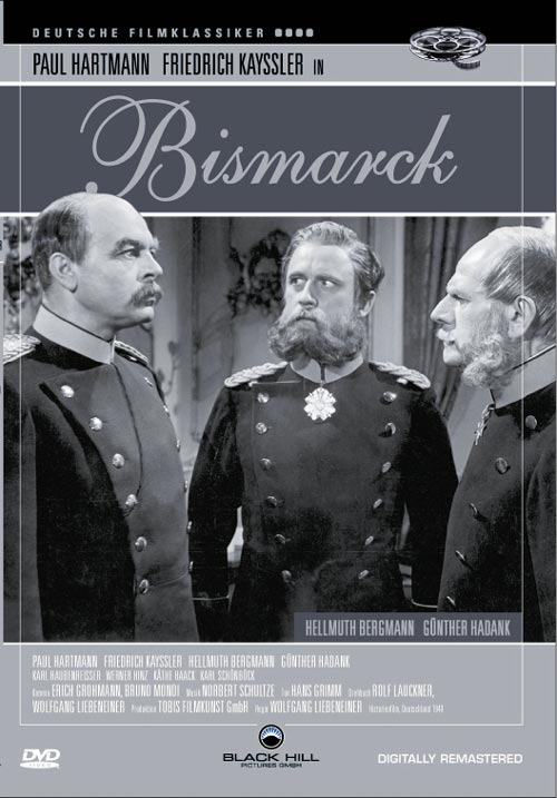 DVD Cover: Bismarck