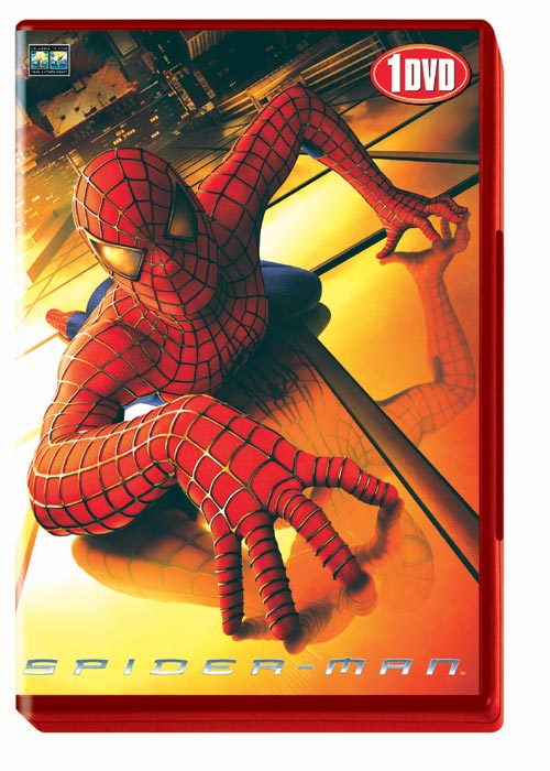 DVD Cover: Spider-Man