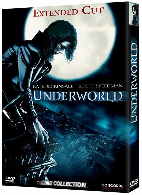 DVD Cover: Underworld - Extended Cut - Cine Collection