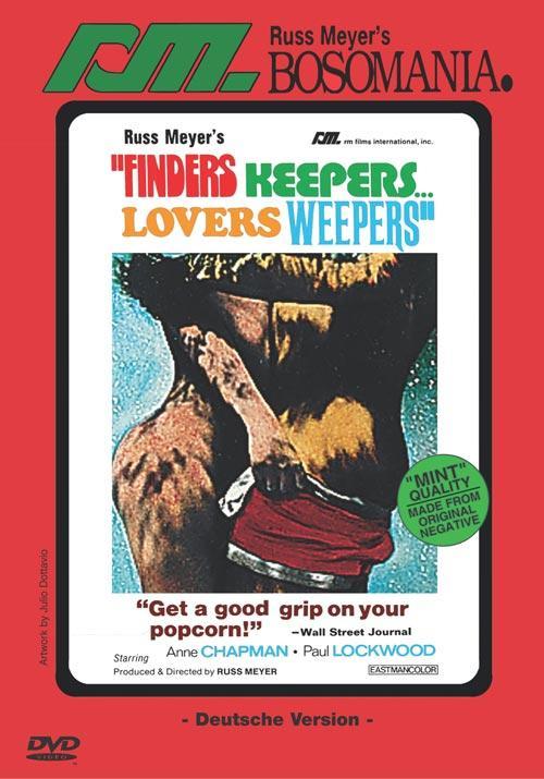 finders keepers lovers weepers dvd Jetzt die dvd per post leihen: finders keepers, lovers weepers (1968) mit paul lockwood von russ meyer.