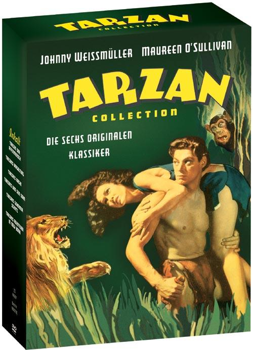 DVD Cover: Tarzan Collection
