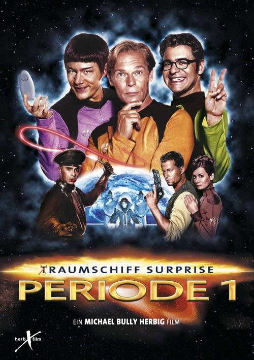 DVD Cover: (T)Raumschiff Surprise - Periode 1