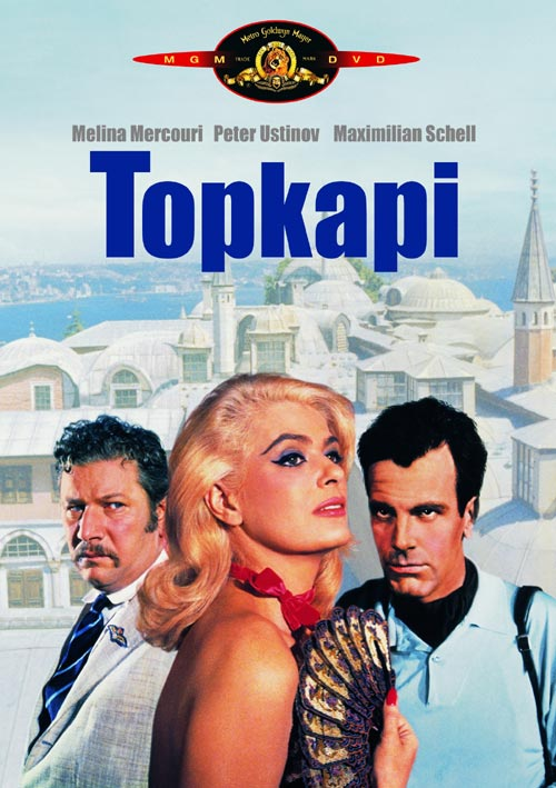 DVD Cover: Topkapi