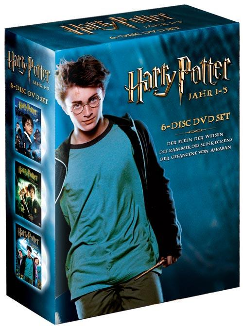 DVD Cover: Harry Potter - Jahr 1-3 - Box