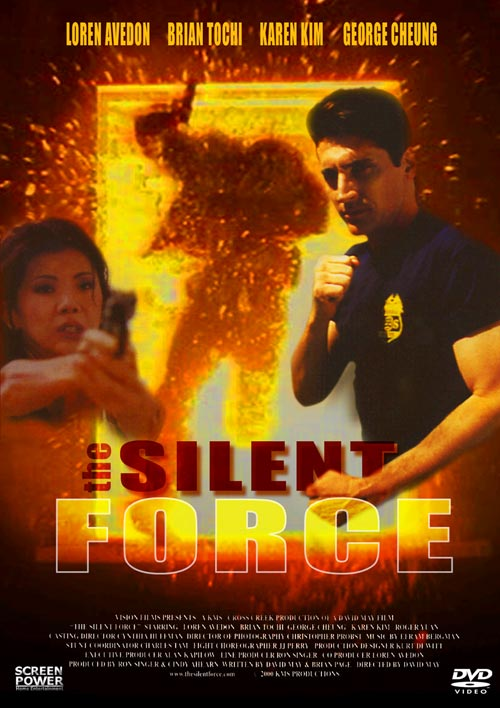DVD Cover: The Silent Force