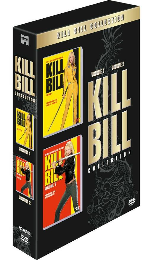 DVD Cover: Kill Bill 1&2 Box
