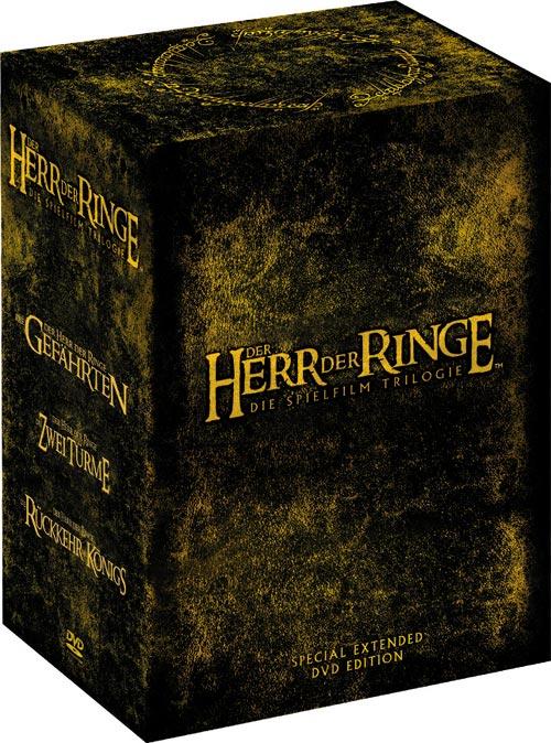 herr der ringe extended edition dvd box