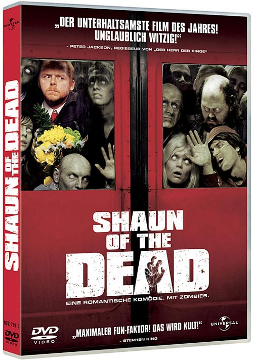 DVD Cover: Shaun of the Dead